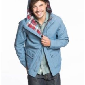 Marine Layer Vintage Style Rain Jacket